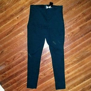 Divided H&M Size 8 Pants Skinny Size Zipper Black